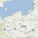 Kelionės maršrutas iš Lietuvos į Daniją, Kopenhagos salą.